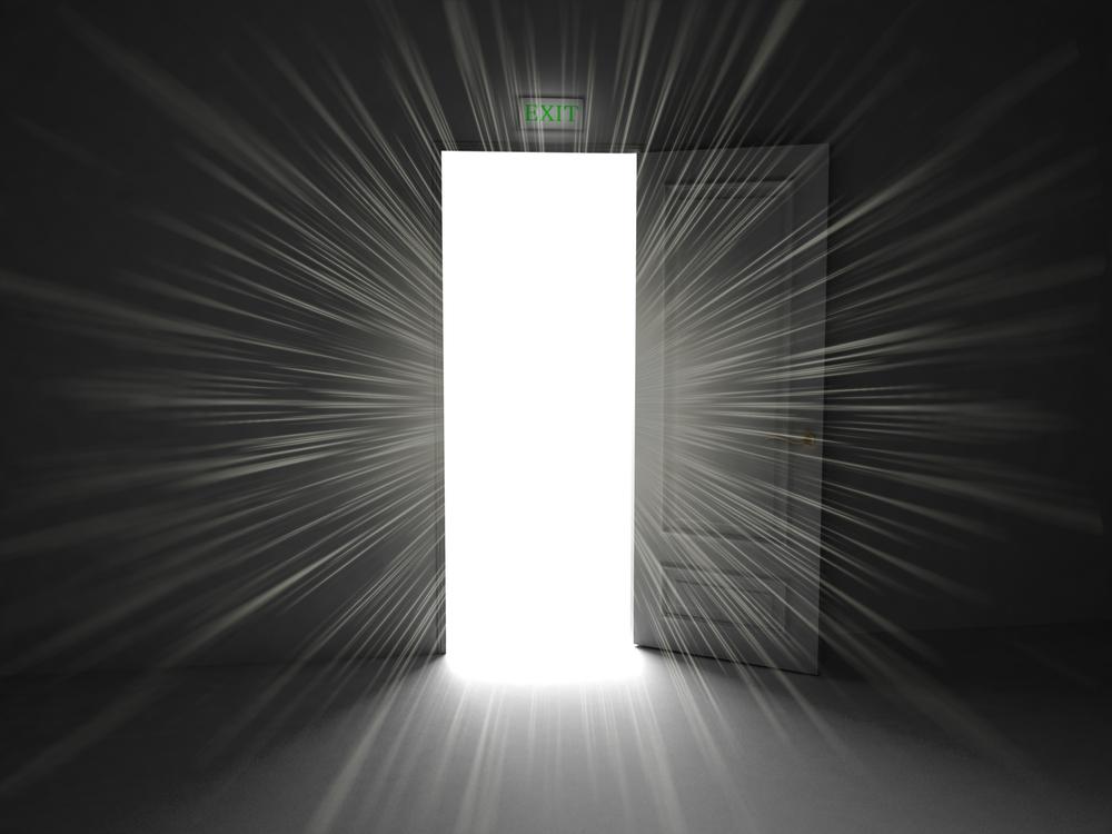 open door drzwi otwarte