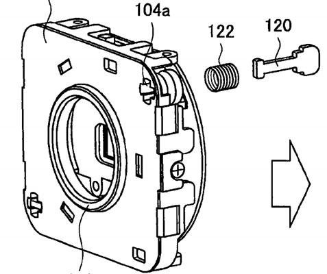patent sony ruchoma matryca