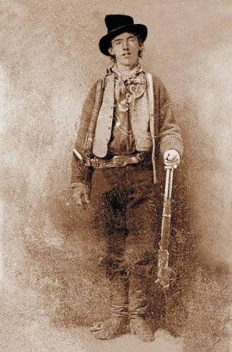 "Autor nieznany, ""Billy The Kid (1879-80), 2.300.000 dol."