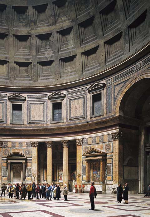 "18. Thomas Struth ""Pantheon, Rome"" (1990/1992 Print), 1.049.000 dol."