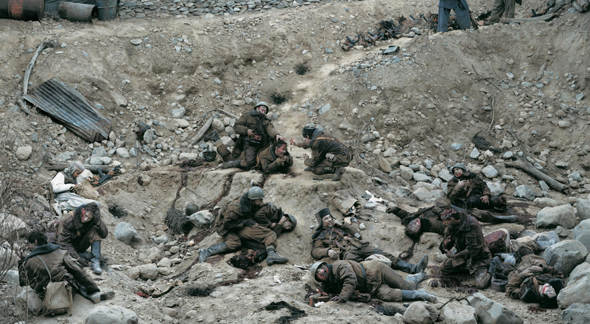 "4. Jeff Wall ""Dead Troops Talk"" (1992), 3.666.500 dol."