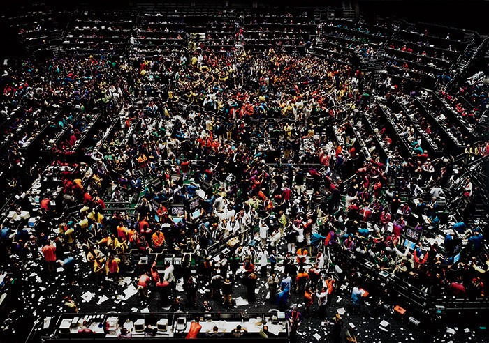 "6. Andreas Gursky ""Chicago Board of Trade III"" (1997), 3.298.755 dol."