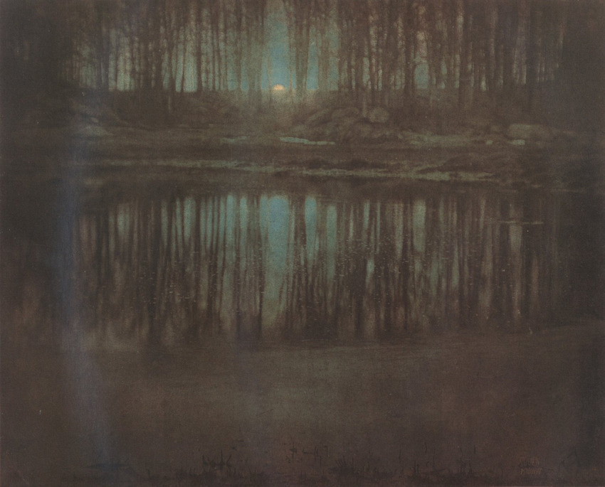 "7. Edward Steichen ""The Pond-Moonlight"" (1904), 2.928.000 dol."