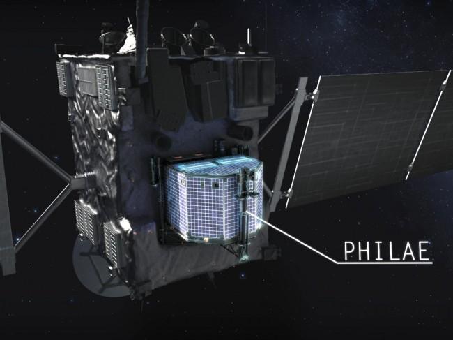 Orbiter Rosetta i lądownik Philae