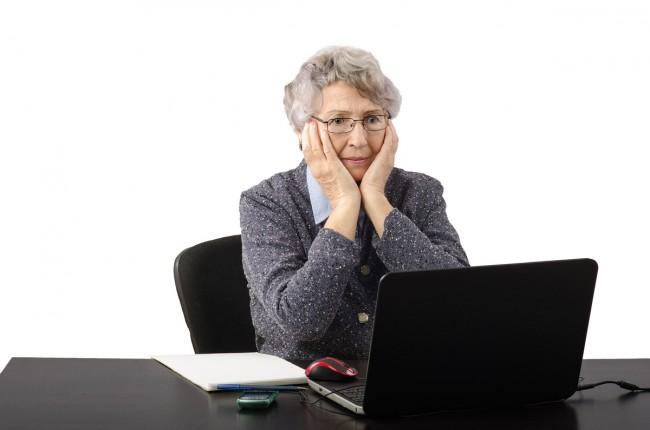 babcia-Internet