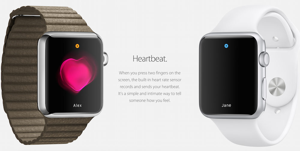 apple watch heart