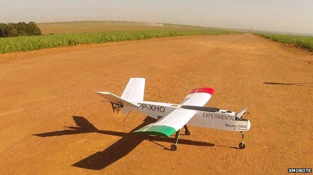 Tak wygląda dron, który prześwietli Puszczę