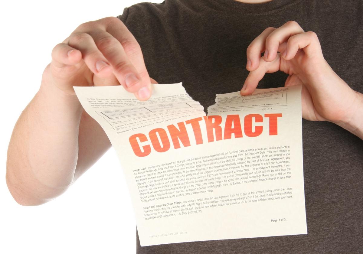 zerwanie umowy