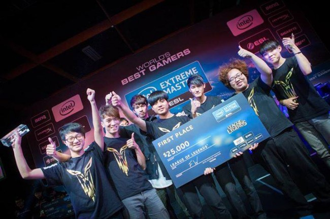 INTEL EXTREME MASTERS 2015 3