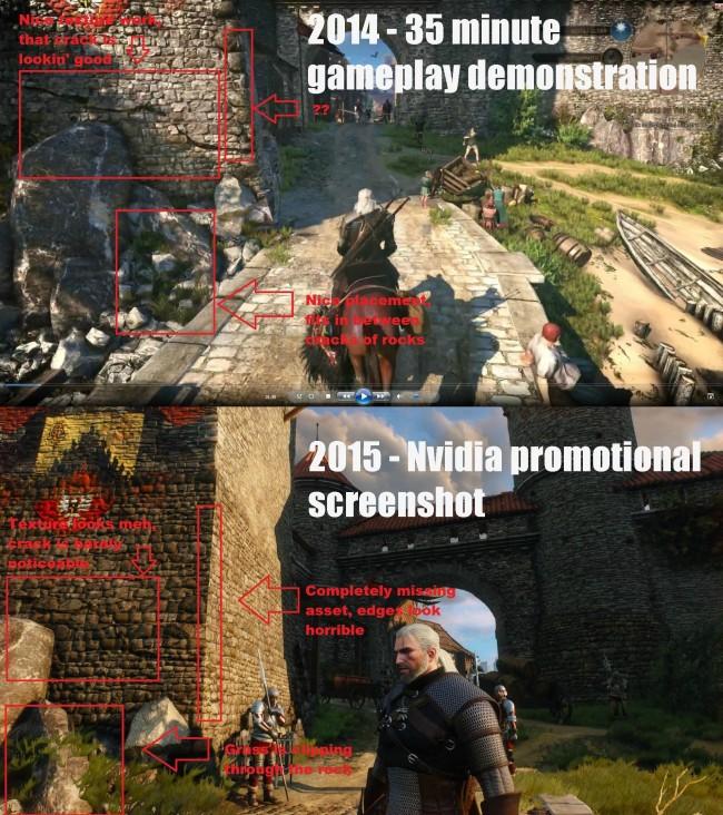 Wiedźmin 3 Downgrade Grafiki