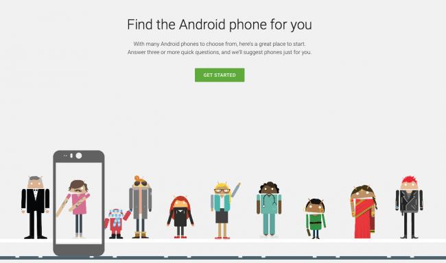 Google-wybór-smartfona-Android-1