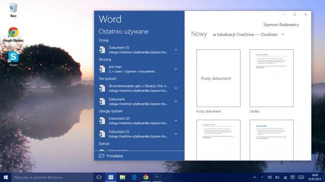 windows 10 universalne aplikacje
