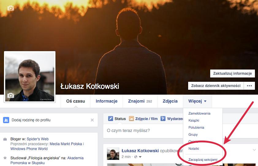 notatki-facebook-gdzie