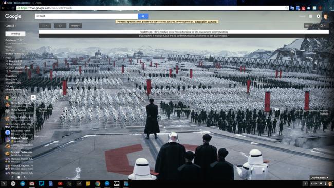 Gwiezdne Wojny Gmail