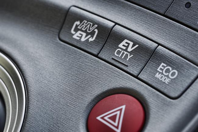 Prius Plug-in oferuje trzy tryby jazdy