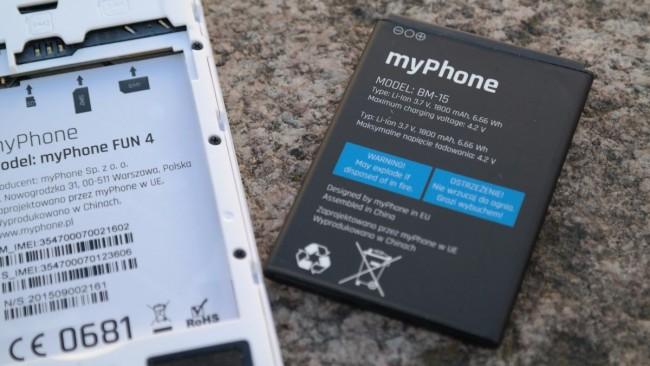 myPhone Fun 4 2