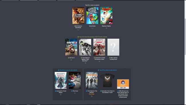 Humble Bundle Ubisoft Gry