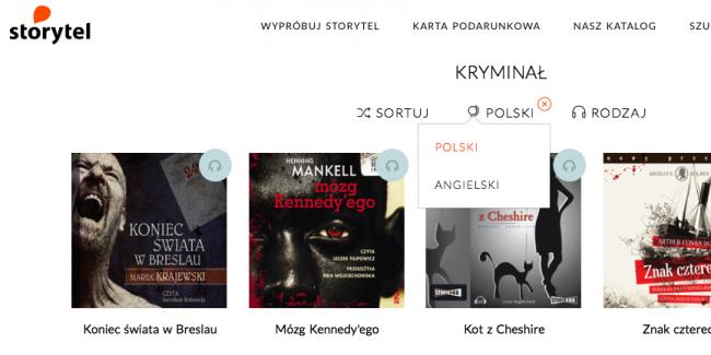 Storytel w Polsce