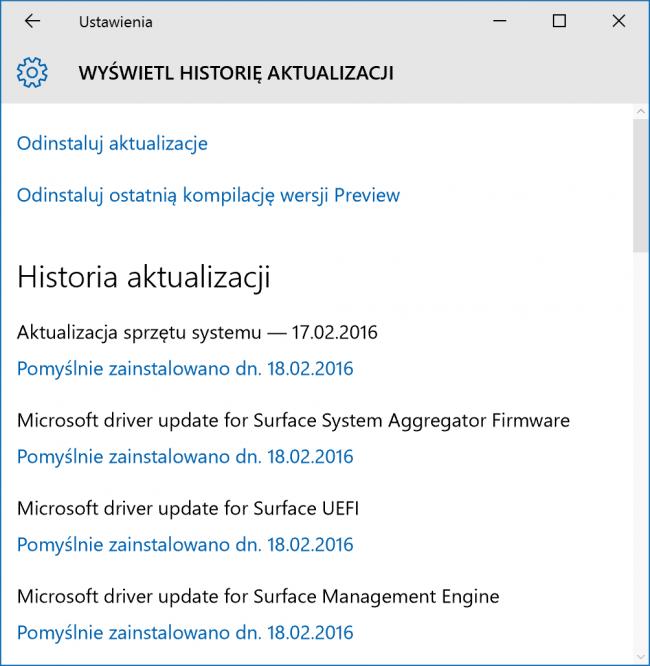Problemy Surface Pro 4 zostały w końcu usunięte