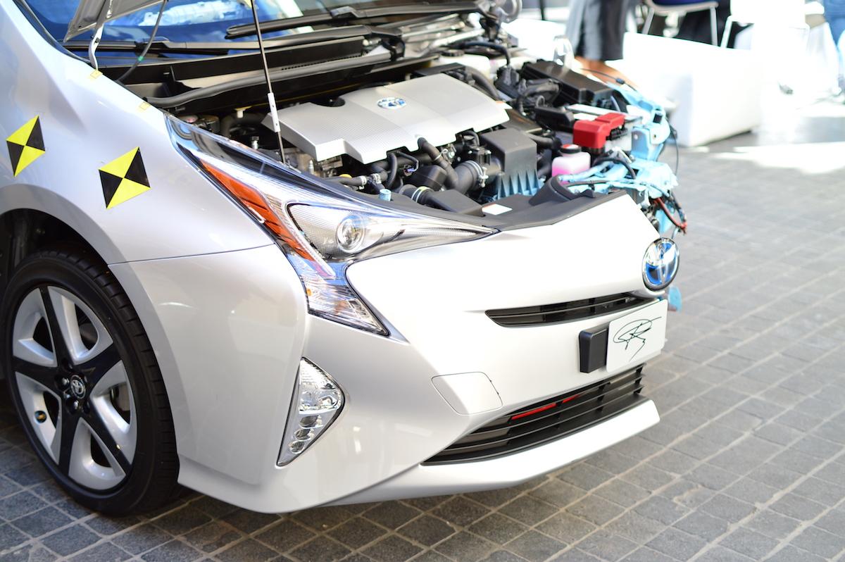 Pierwsza jazda nową Toyotą Prius 2016