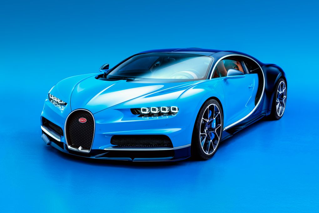 Bugatti Chiron najszybszy samochód świata