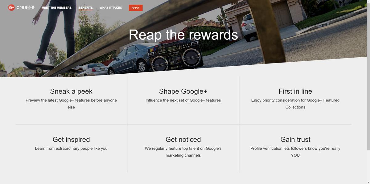 Google+ Create ma wskrzesić serwis społecznościowy giganta.